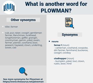 plowman, synonym plowman, another word for plowman, words like plowman, thesaurus plowman