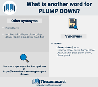 plump down, synonym plump down, another word for plump down, words like plump down, thesaurus plump down