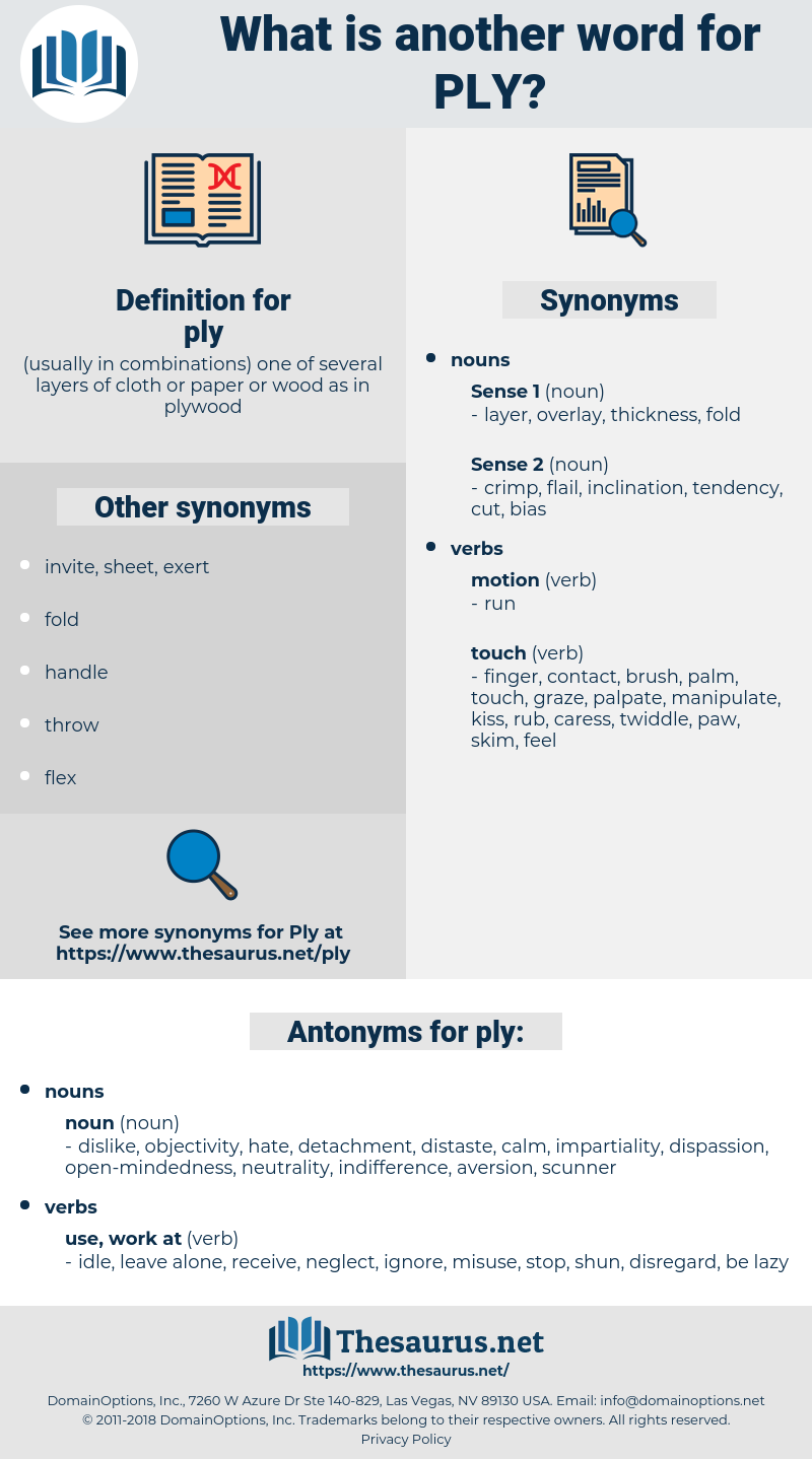 ply, synonym ply, another word for ply, words like ply, thesaurus ply