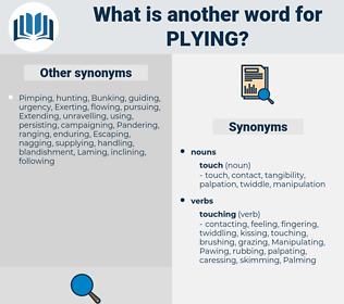 Plying, synonym Plying, another word for Plying, words like Plying, thesaurus Plying