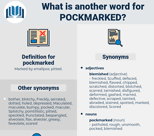 pockmarked, synonym pockmarked, another word for pockmarked, words like pockmarked, thesaurus pockmarked