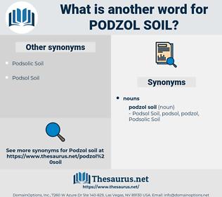 Podzol Soil, synonym Podzol Soil, another word for Podzol Soil, words like Podzol Soil, thesaurus Podzol Soil