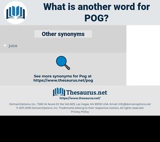 POG, synonym POG, another word for POG, words like POG, thesaurus POG