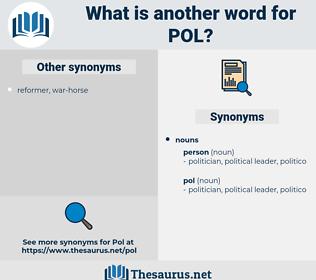 pol, synonym pol, another word for pol, words like pol, thesaurus pol