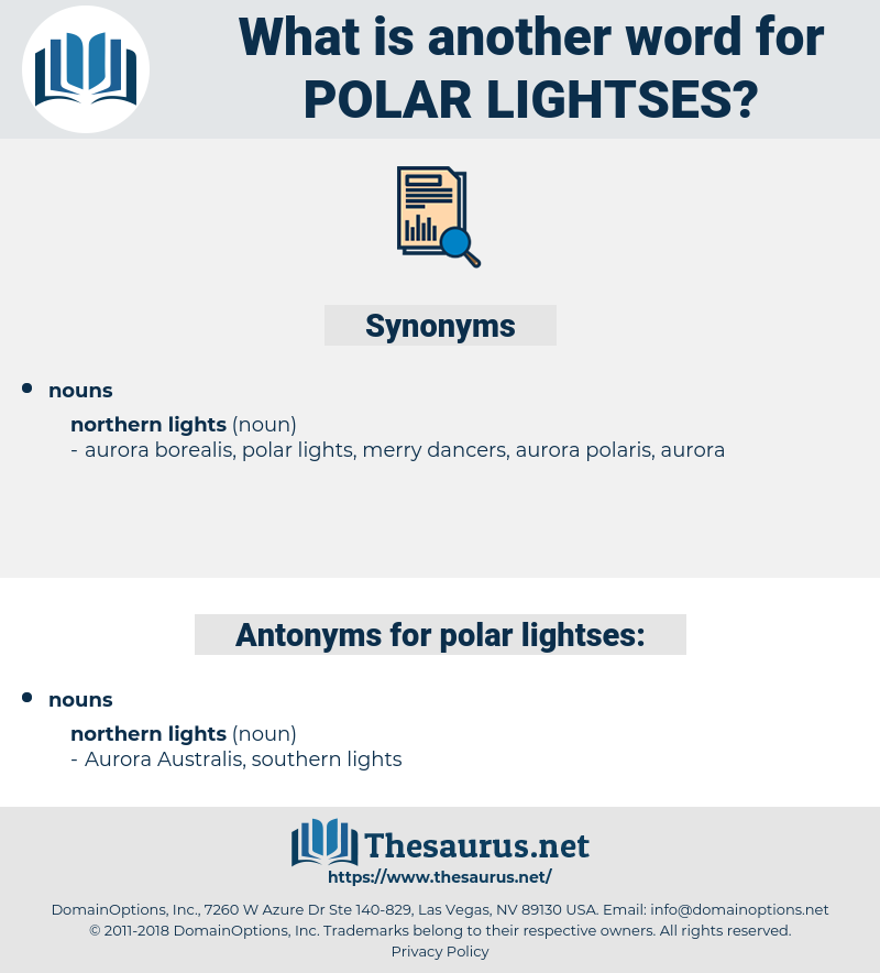 polar lightses, synonym polar lightses, another word for polar lightses, words like polar lightses, thesaurus polar lightses