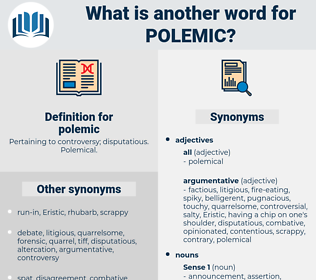 polemic, synonym polemic, another word for polemic, words like polemic, thesaurus polemic