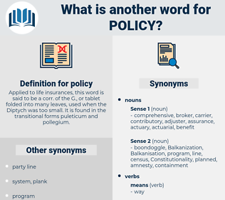 policy, synonym policy, another word for policy, words like policy, thesaurus policy
