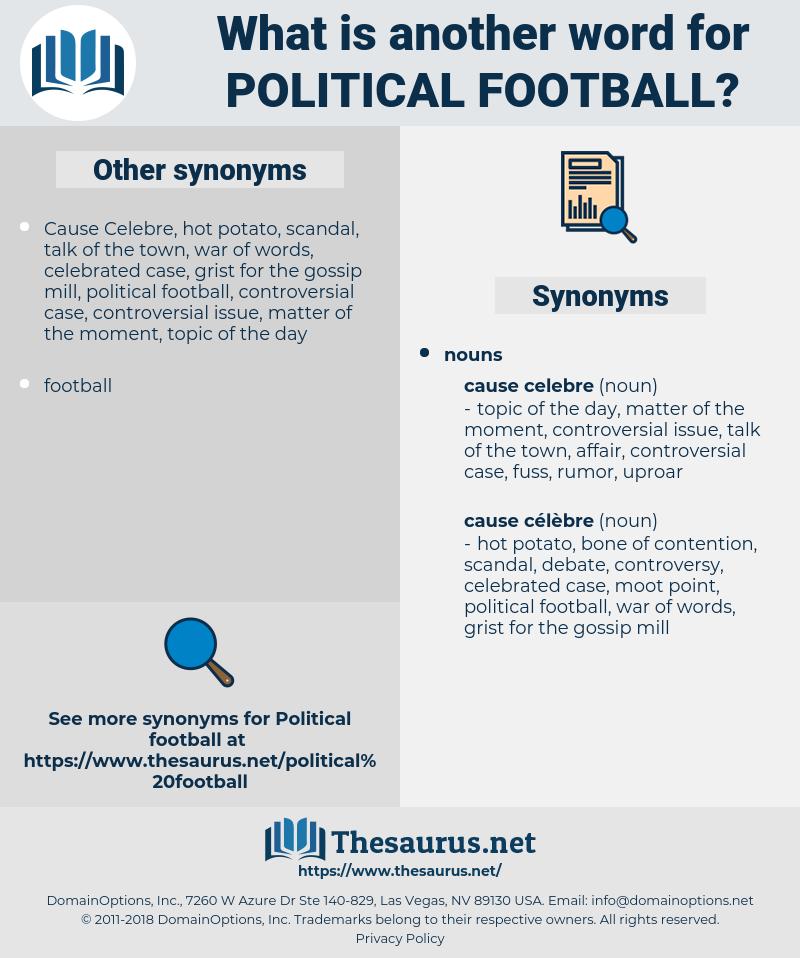 political football, synonym political football, another word for political football, words like political football, thesaurus political football