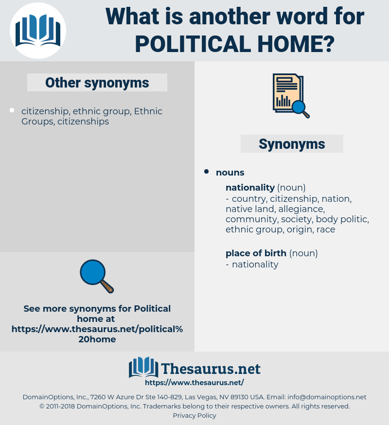 political home, synonym political home, another word for political home, words like political home, thesaurus political home