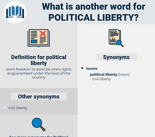 political liberty, synonym political liberty, another word for political liberty, words like political liberty, thesaurus political liberty