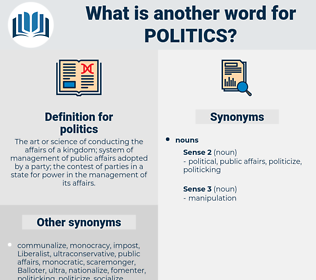 politics, synonym politics, another word for politics, words like politics, thesaurus politics