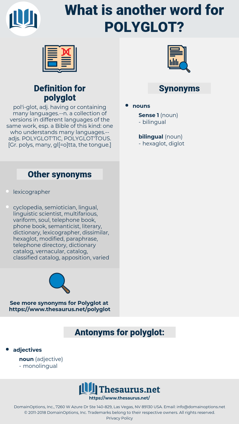 polyglot, synonym polyglot, another word for polyglot, words like polyglot, thesaurus polyglot