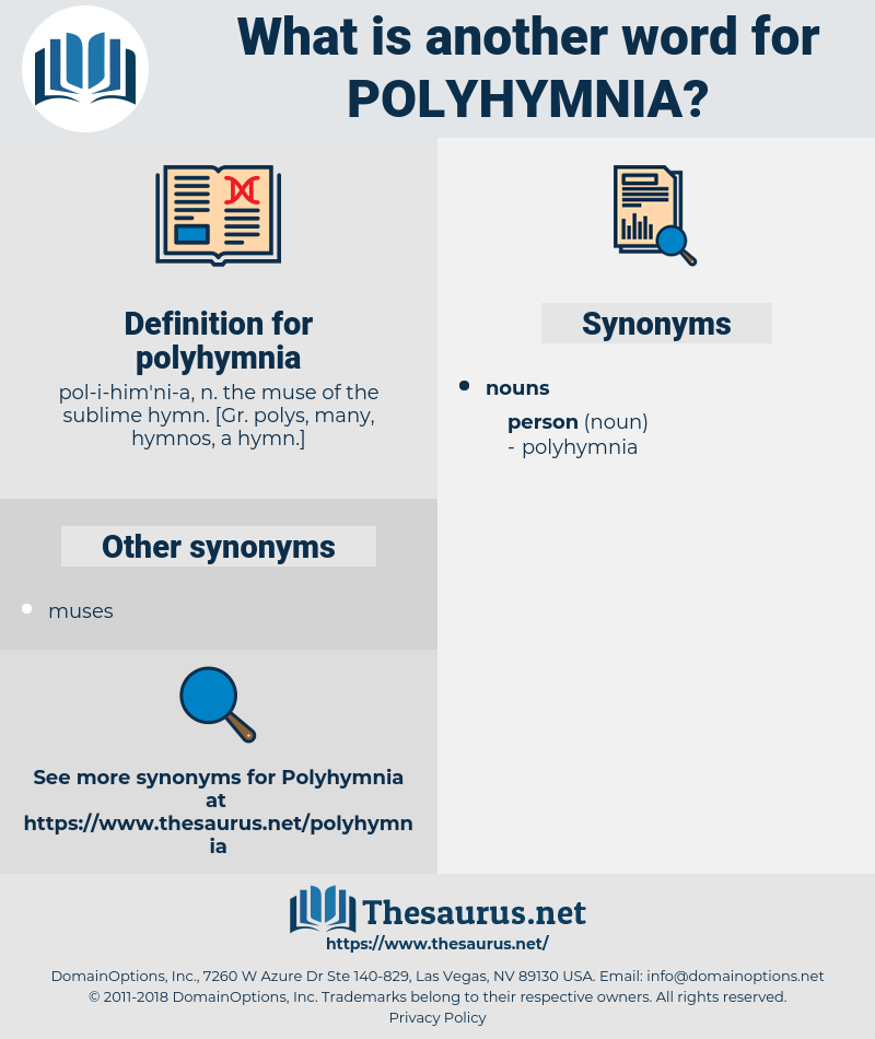 polyhymnia, synonym polyhymnia, another word for polyhymnia, words like polyhymnia, thesaurus polyhymnia