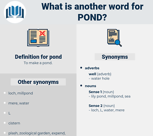 pond, synonym pond, another word for pond, words like pond, thesaurus pond