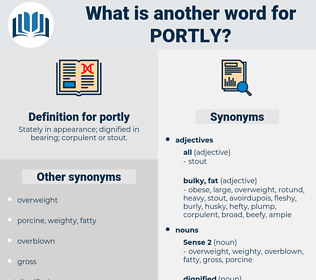 portly, synonym portly, another word for portly, words like portly, thesaurus portly