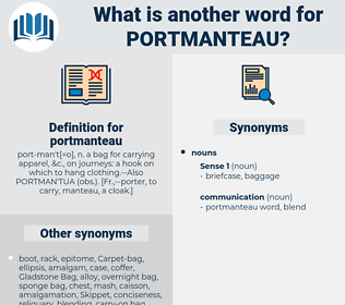portmanteau, synonym portmanteau, another word for portmanteau, words like portmanteau, thesaurus portmanteau