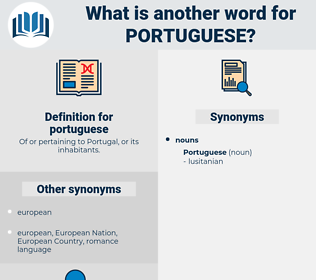 portuguese, synonym portuguese, another word for portuguese, words like portuguese, thesaurus portuguese