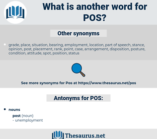 POS, synonym POS, another word for POS, words like POS, thesaurus POS