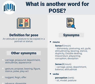 pose, synonym pose, another word for pose, words like pose, thesaurus pose