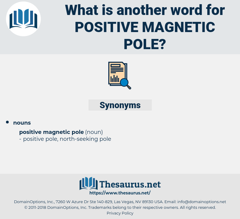 positive magnetic pole, synonym positive magnetic pole, another word for positive magnetic pole, words like positive magnetic pole, thesaurus positive magnetic pole