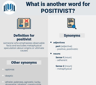 positivist, synonym positivist, another word for positivist, words like positivist, thesaurus positivist