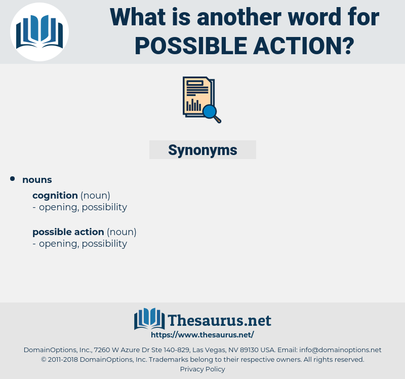 possible action, synonym possible action, another word for possible action, words like possible action, thesaurus possible action