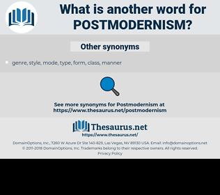 postmodernism, synonym postmodernism, another word for postmodernism, words like postmodernism, thesaurus postmodernism