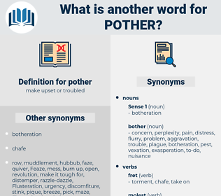 pother, synonym pother, another word for pother, words like pother, thesaurus pother