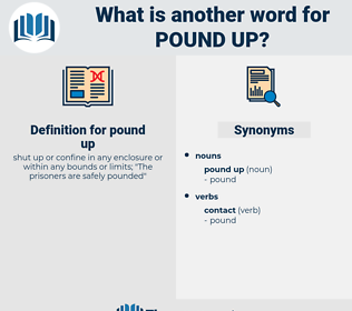 pound up, synonym pound up, another word for pound up, words like pound up, thesaurus pound up