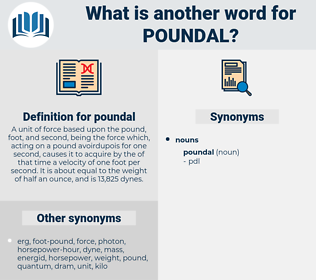 poundal, synonym poundal, another word for poundal, words like poundal, thesaurus poundal