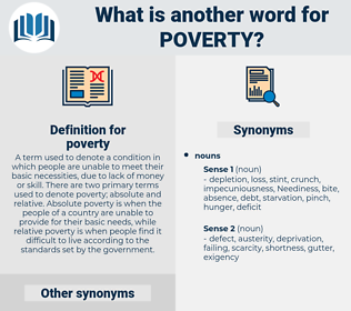 poverty, synonym poverty, another word for poverty, words like poverty, thesaurus poverty