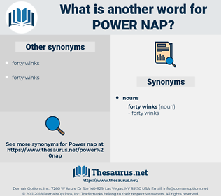 power nap, synonym power nap, another word for power nap, words like power nap, thesaurus power nap
