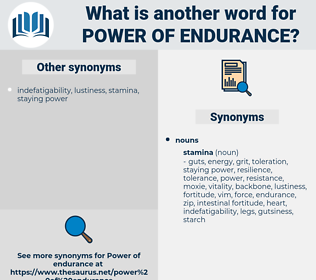 power of endurance, synonym power of endurance, another word for power of endurance, words like power of endurance, thesaurus power of endurance