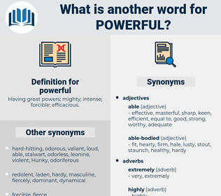powerful, synonym powerful, another word for powerful, words like powerful, thesaurus powerful