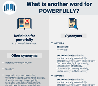 powerfully, synonym powerfully, another word for powerfully, words like powerfully, thesaurus powerfully