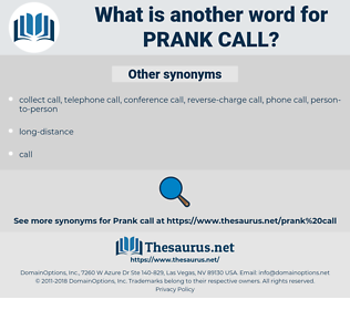 prank call, synonym prank call, another word for prank call, words like prank call, thesaurus prank call