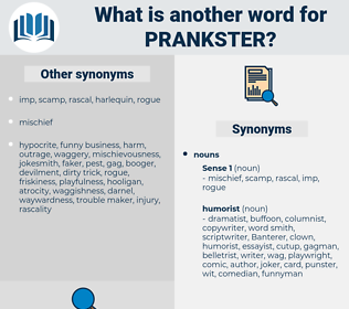 prankster, synonym prankster, another word for prankster, words like prankster, thesaurus prankster