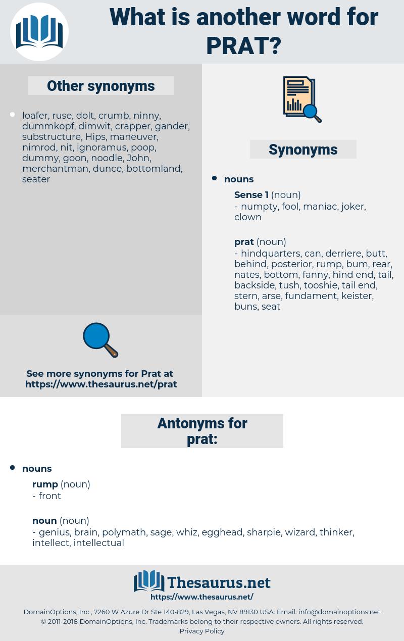 prat, synonym prat, another word for prat, words like prat, thesaurus prat