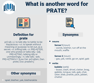 prate, synonym prate, another word for prate, words like prate, thesaurus prate