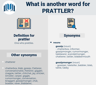 prattler, synonym prattler, another word for prattler, words like prattler, thesaurus prattler