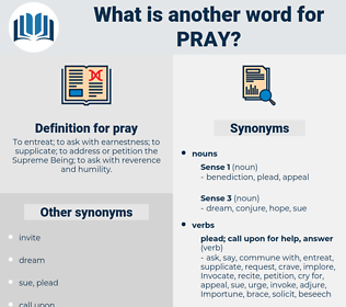 pray, synonym pray, another word for pray, words like pray, thesaurus pray