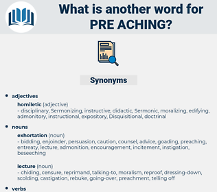 pre-aching, synonym pre-aching, another word for pre-aching, words like pre-aching, thesaurus pre-aching