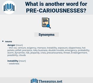 pre-cariousnesses, synonym pre-cariousnesses, another word for pre-cariousnesses, words like pre-cariousnesses, thesaurus pre-cariousnesses