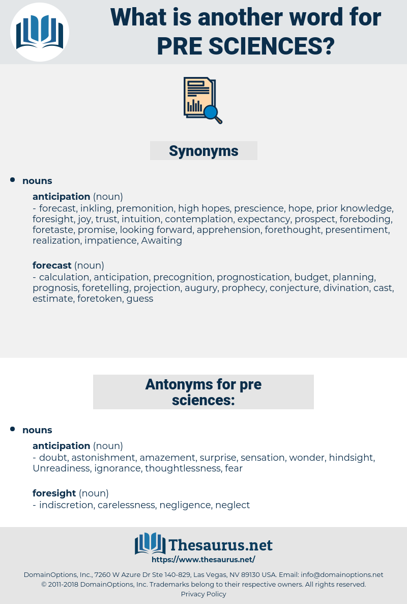 pre-sciences, synonym pre-sciences, another word for pre-sciences, words like pre-sciences, thesaurus pre-sciences
