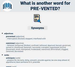 pre-vented, synonym pre-vented, another word for pre-vented, words like pre-vented, thesaurus pre-vented