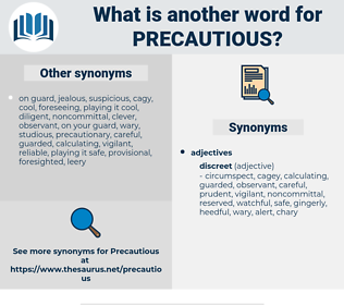 Precautious, synonym Precautious, another word for Precautious, words like Precautious, thesaurus Precautious