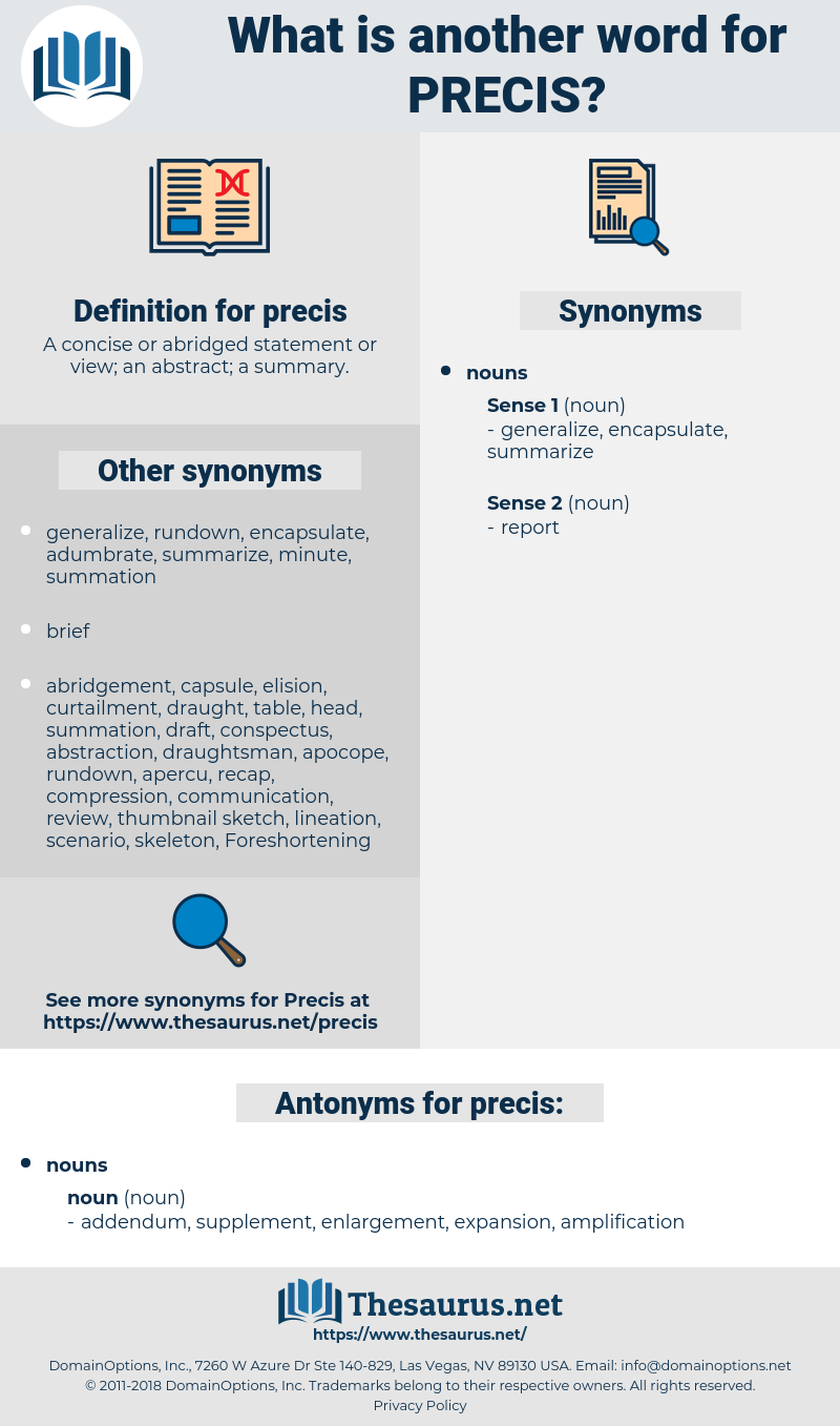 precis, synonym precis, another word for precis, words like precis, thesaurus precis