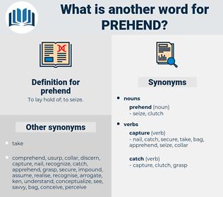 prehend, synonym prehend, another word for prehend, words like prehend, thesaurus prehend
