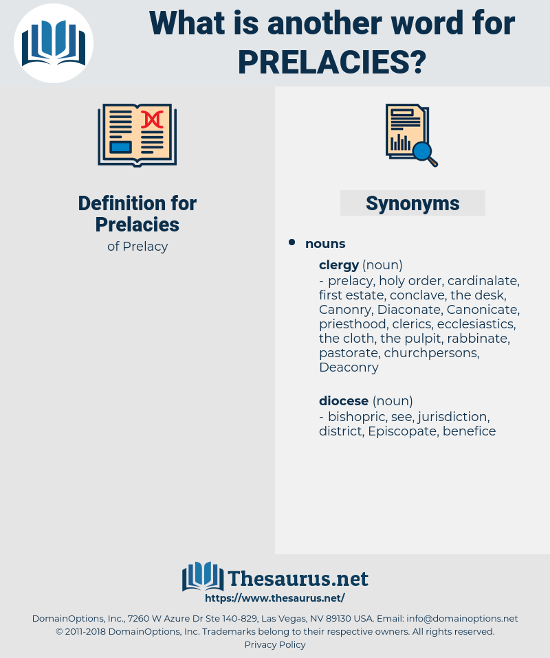 Prelacies, synonym Prelacies, another word for Prelacies, words like Prelacies, thesaurus Prelacies