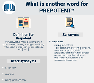 Prepotent, synonym Prepotent, another word for Prepotent, words like Prepotent, thesaurus Prepotent